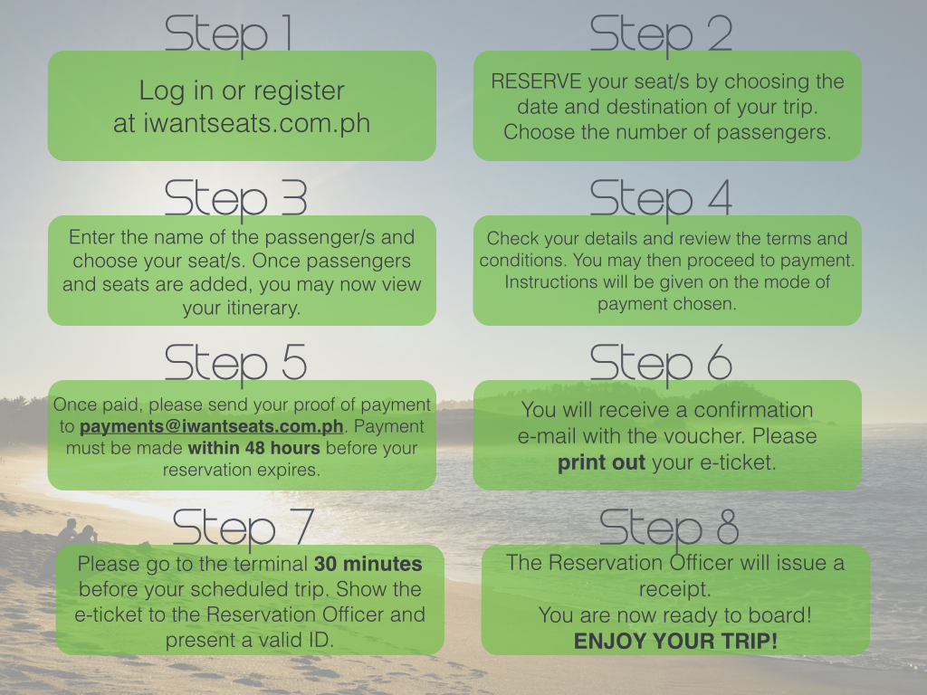 iWantSeats: real-time online bus booking